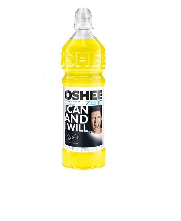 OSHEE ISOTONIC LEMON SUGAR FREE 750ml