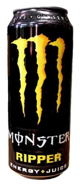 MONSTER 500ml RIPPER ΚΙΤΡΙΝΟ