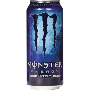 MONSTER 500ml  ZERO ΜΠΛΕ