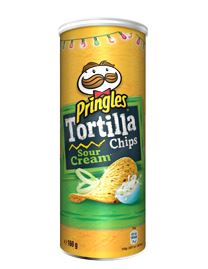 PRINGLES TORTILLA SOUR CREAM 160gr