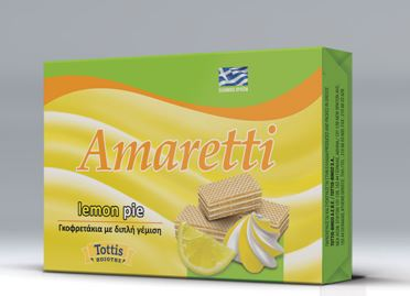 AMARETTI LEMON PIE 68gr