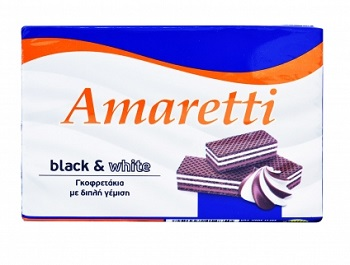 AMARETTI BLACK WHITE 68gr