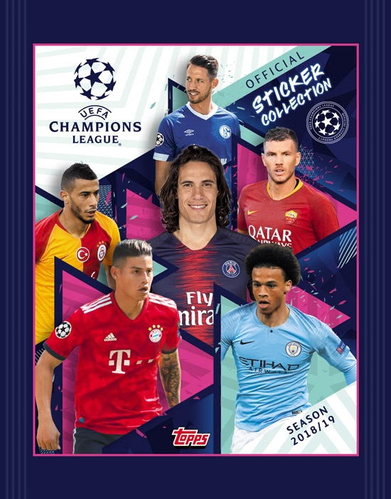 TOPPS STICKERS CHAMPIONS LEAGUE 2019 30τμχ