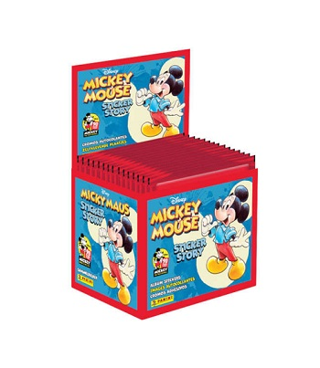 PANINI MICKEY MOUSE  STICKERS 50 τμχ